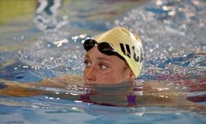 Mireia Belmonte, hace 10 días en el Campeonato de España de natación