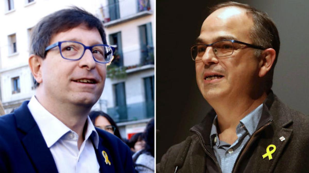 Carles Mundó y Jordi Turull.