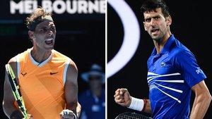 Nadal y Djokovic jugarán otro clásico del tenis en la final de Australia.
