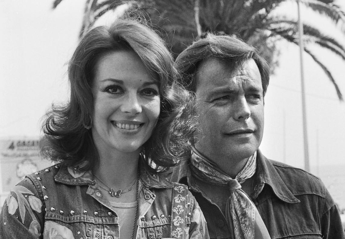 Natalie Wood y Robert Wagner, en una imagen del 18 de mayo de 1976, em la 29 edición del Festival deCannes.