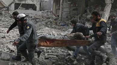 "Cuarto día de bombardeos en Guta: ""Estamos esperando a morir"""