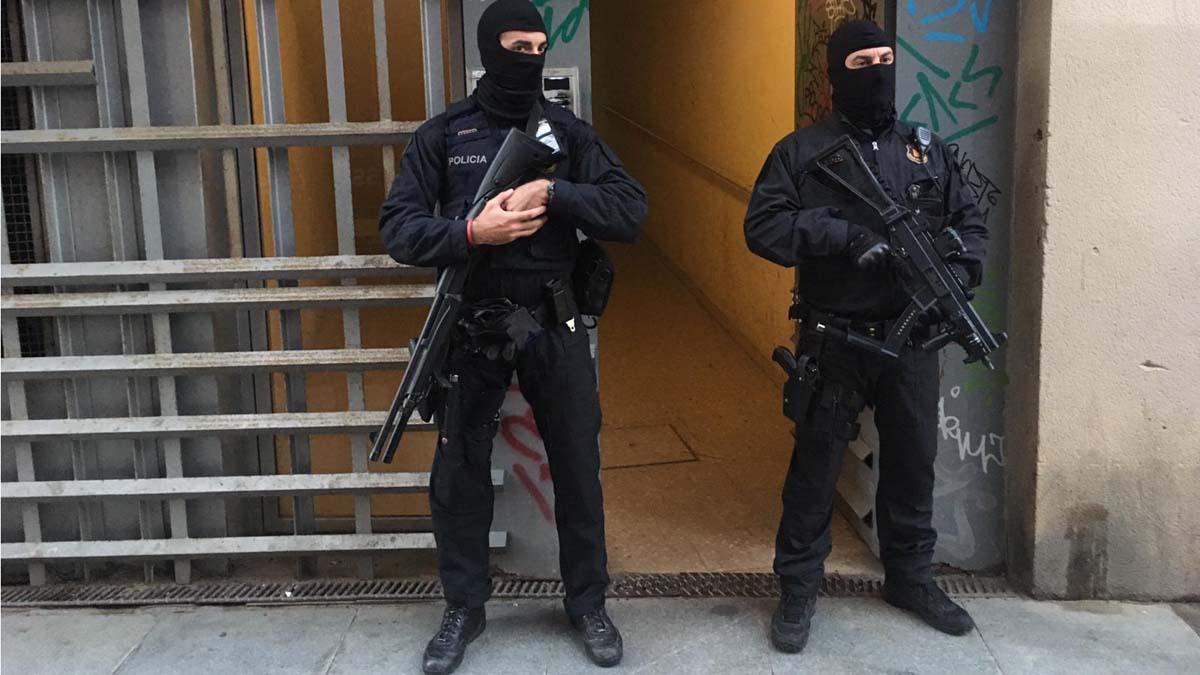 Operación antiterrorista en Barcelona contra un grupo yihadista dispuesto a atentar | Directo