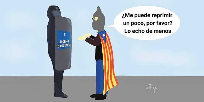 El humor gráfico de Juan Carlos Ortega del 10 de Diciembre del 2018