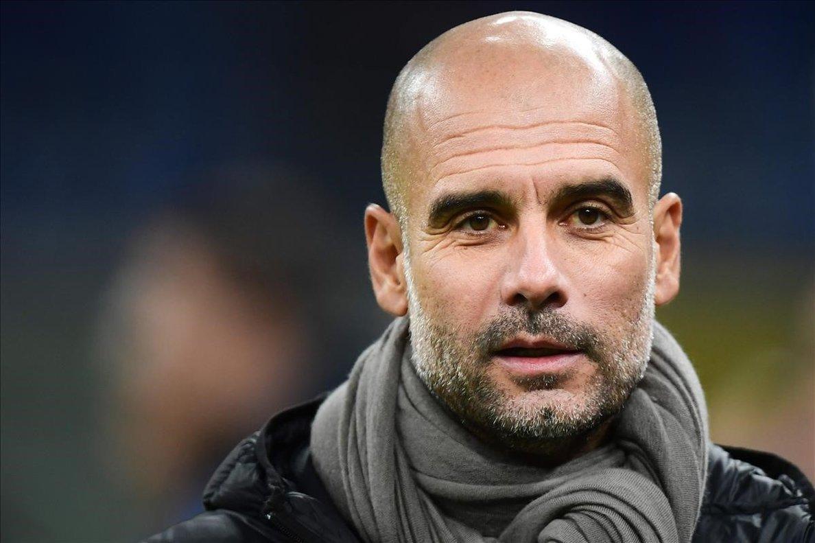 Pep Guardiola, técnico del City, en una imagen reciente