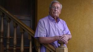 Pere Olivé perdió a su hijo en un curso de espeleología.