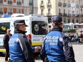 La Policía Municipal de Madrid.