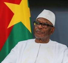 El presidente de Mali,Ibrahim Boubacar Keita.