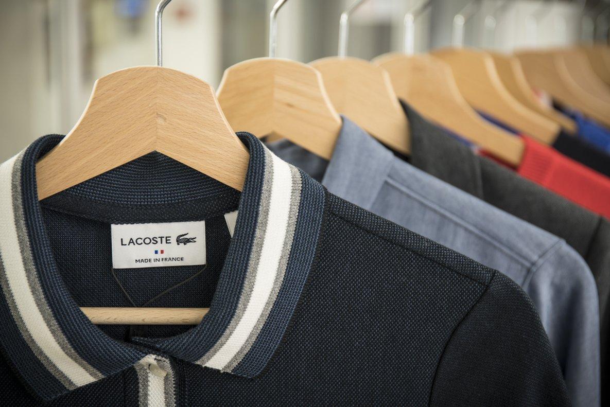 Productos de la marca Lacost.