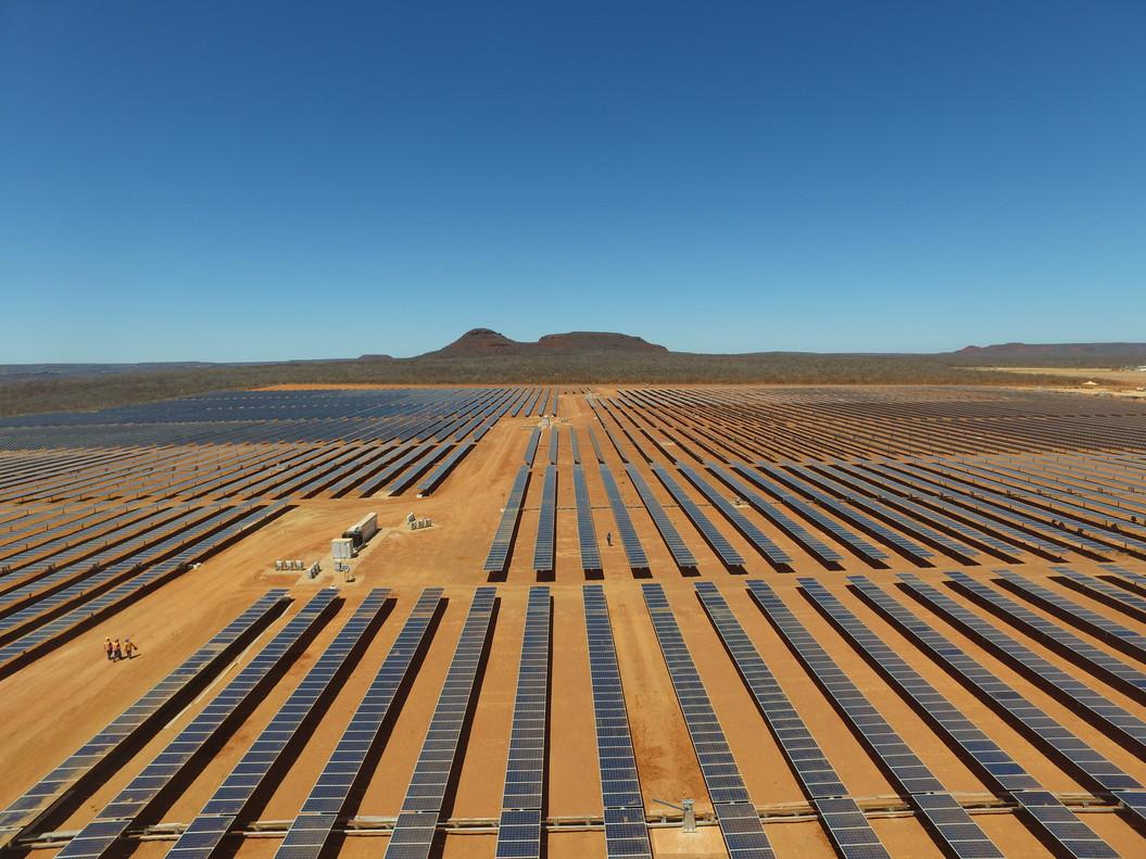 Proyecto fotovoltaico de Gas Natural Fenosa en Brasil.