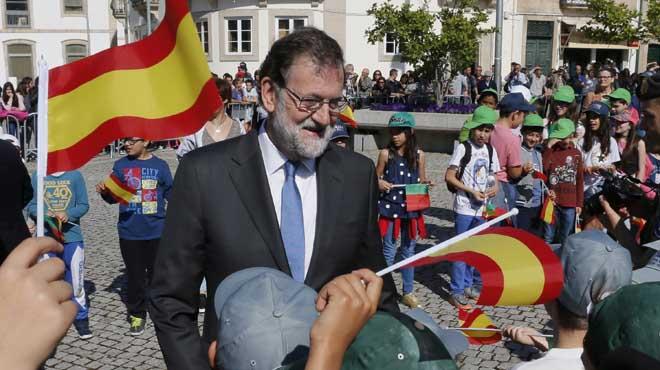El presidente del Gobierno, Mariano Rajoy, afirma que estará a lo que dispongan los tribunales de Justicia.