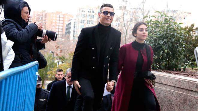 Cristiano Ronaldo ratifica a l'Audiència de Madrid el pacte amb Hisenda