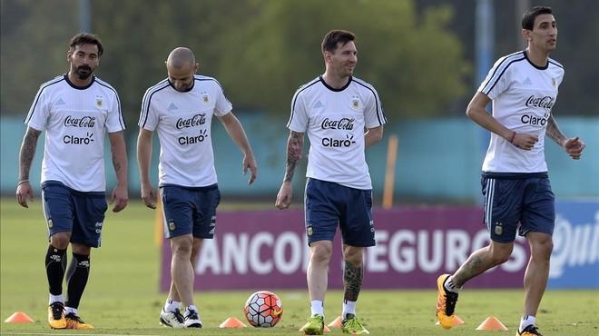 La Argentina de Messi busca venganza ante la Chile de Bravo
