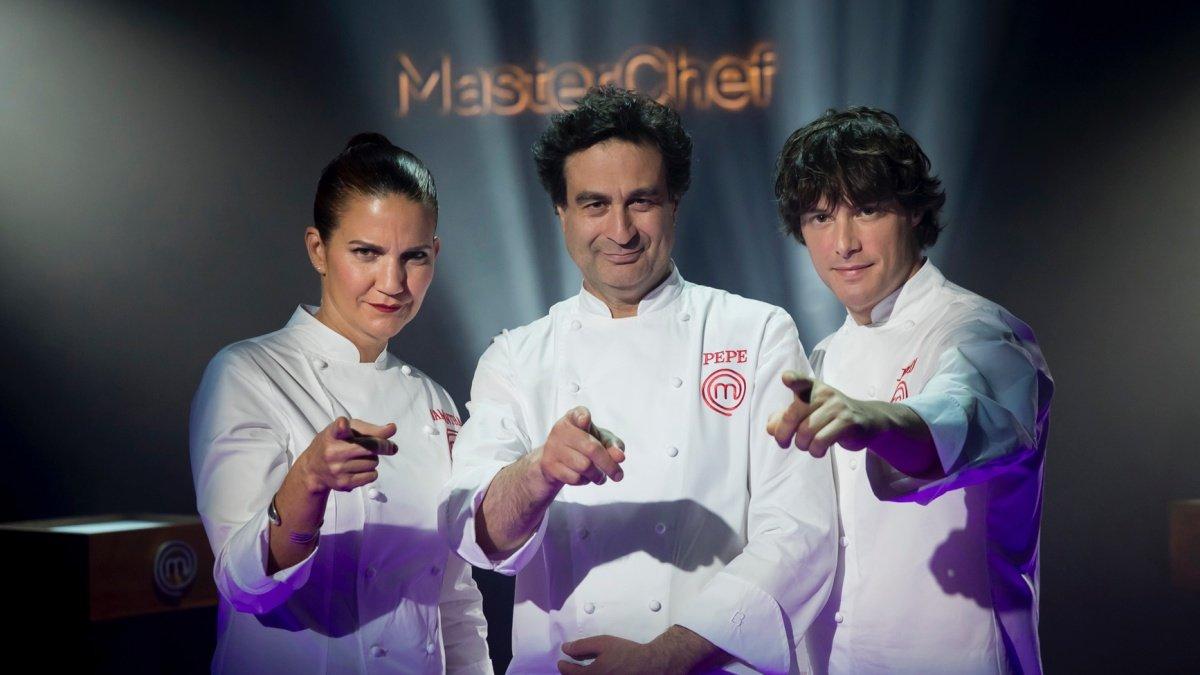 Samanta Vallejo-Nágera, Pepe Rey y Jordi Cruz, jurado de la séptima edición de Masterchef.