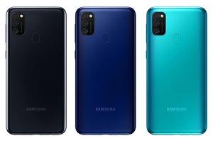 Samsung M21, colores.