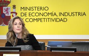La secretaria de Estado del Tesoro, Emma Navarro.