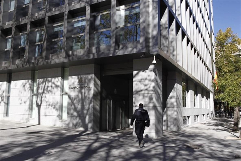 La sede la Audiencia Nacional, en Madrid.