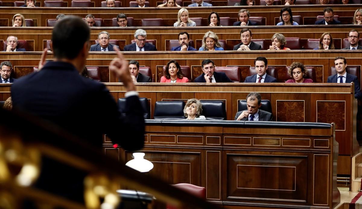Una sesión del pleno del Congreso.