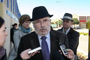El Síndic de Greuges, Rafael Ribó, en Barcelona.