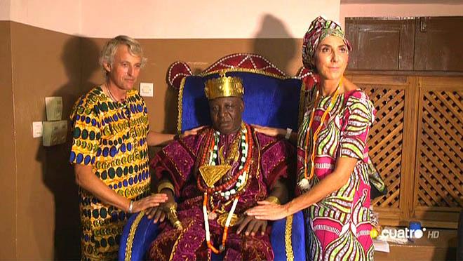 Felipe VI en BCN y Gbaguid XIV en África