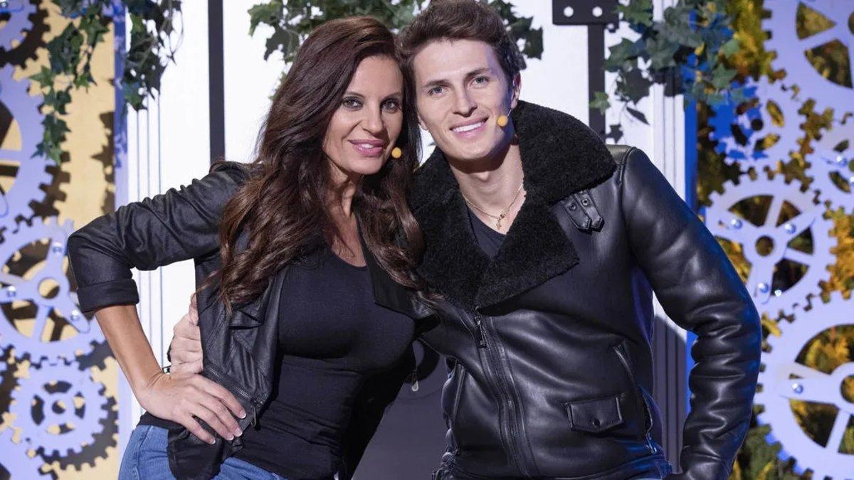 Sonia Monroy y su marido J.D. en 'La casa fuerte 2'.