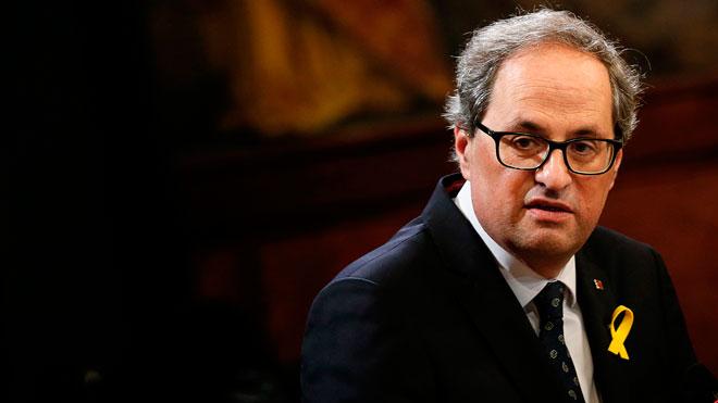 La Sala de lo Penal del Tribunal Supremo ha confirmado la condena de un año y medio de inhabilitación impuesta al president de la Generalitat de Catalunya, Quim Torra, por un delito de desobediencia, lo que supone incapacitarlo para el cargo que actualmente ocupa.