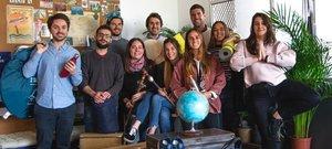 El equipo de trabajadores de la 'start-up' barcelonesa Tropicfeel.