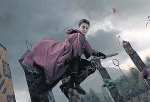 Una escena de la saga cinematográfica de Harry Potter