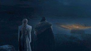 Una imagen del tercer capítulo de la octava temporada de 'Juego de tronos'