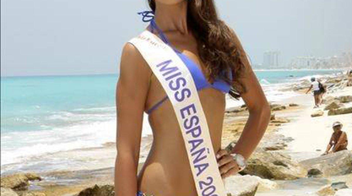 Una miss España.