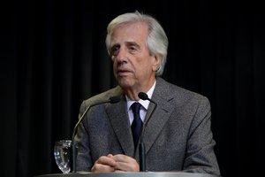 El presidente de Uruguay,TabaréVázquez.