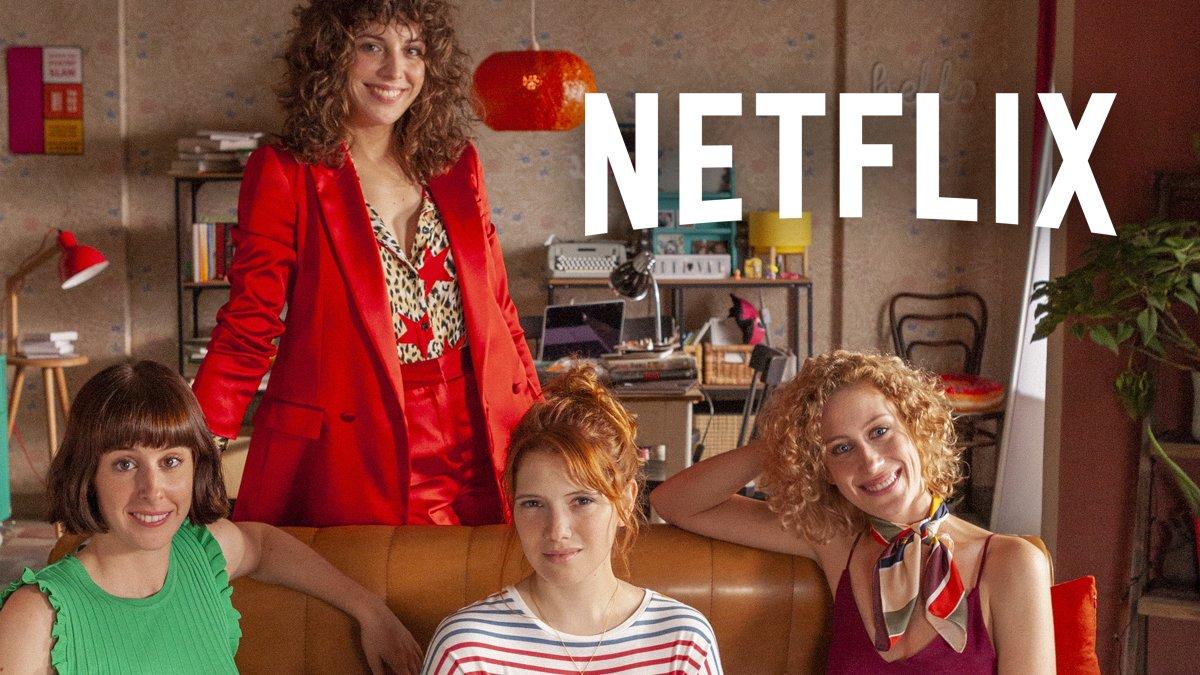 Netflix arrenca el rodatge de 'Valeria' i en revela el seu repartiment