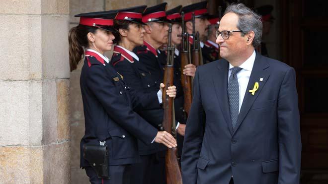 El Govern veu «aberrant» el perfil de la guàrdia de Torra i altres notícies que has de saber avui, en un minut