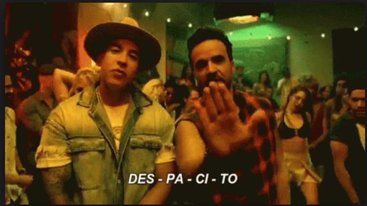 Imagen del vídeoclip Despacito.