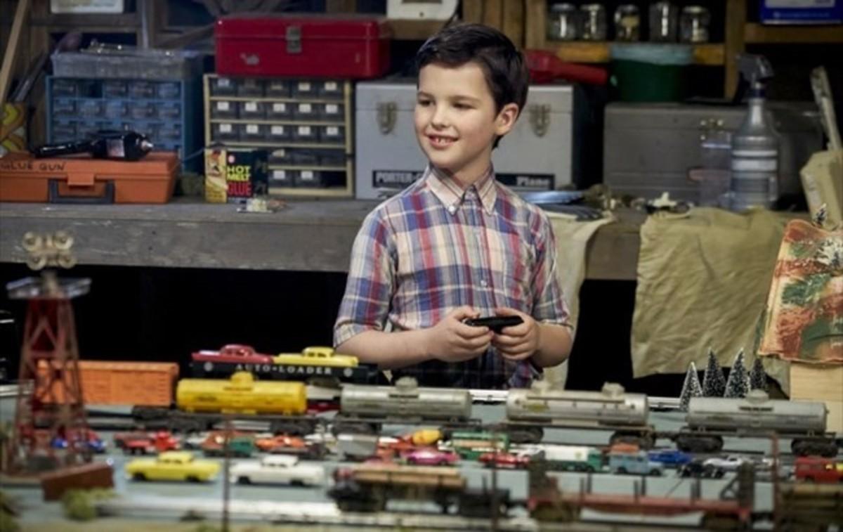 El joven actor Ian Armitage encarna al personaje de Sheldon Cooperen su infancia,en la nueva serie Young Sheldon.