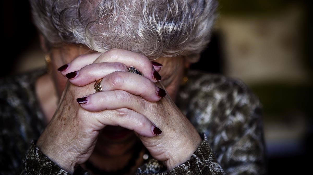 Una persona mayor, en una imagen de archivo
