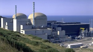 Central nuclear de Flamanville, en la Normandía francesa.