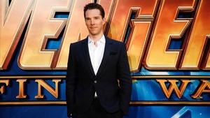 Benedict Cumberbatch en la presentación de Vengadores: Infinity War.