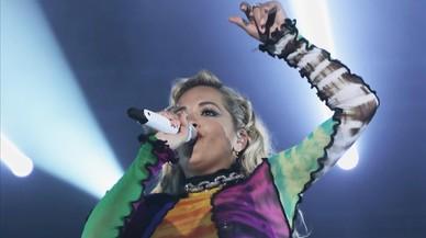 Rita Ora, reina del SHARE Festival