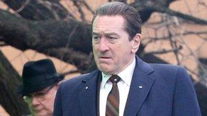 Robert de Niro, en el rodaje de la película de Netflix 'The Irishman'.