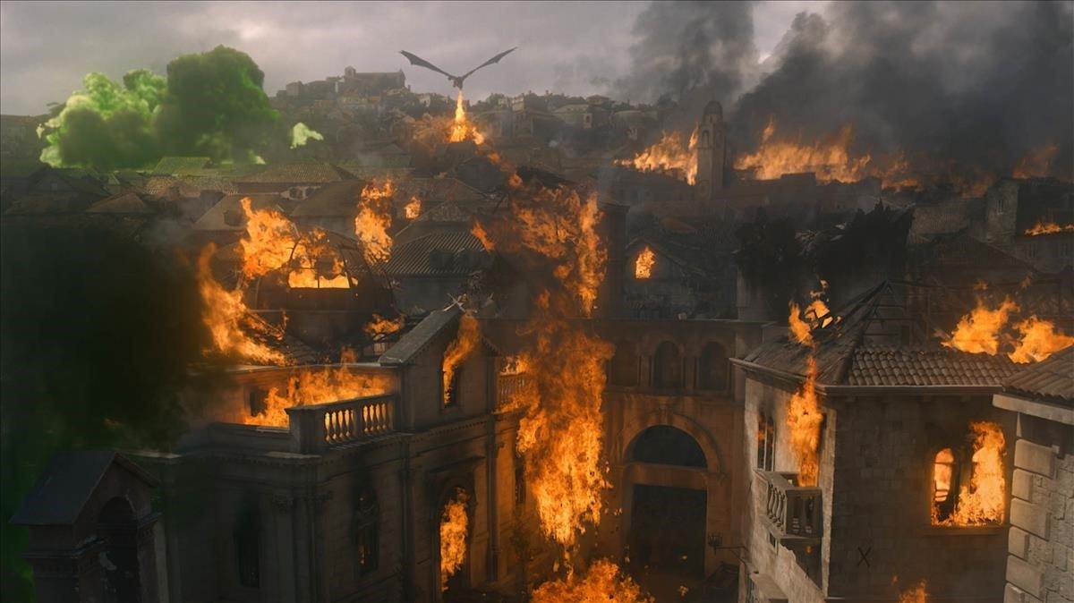 Una imagen del capítulo cincode la octava temporada de 'Juego de tronos'.