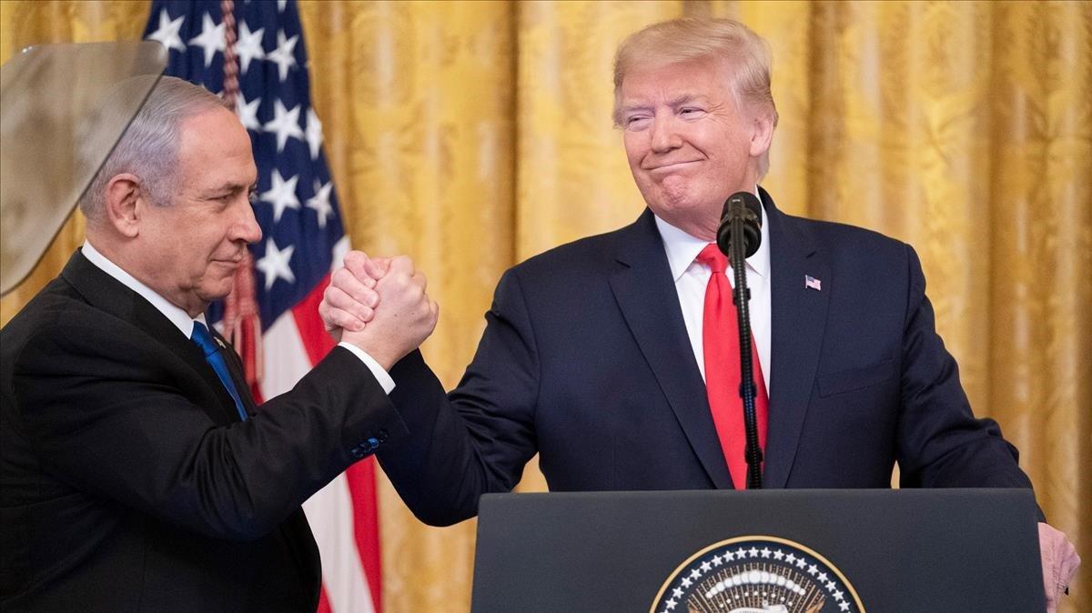 Els palestins, a mercè de Trump