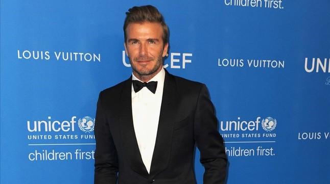 David Beckham lanza su propia línea de belleza