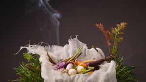 Uno de los platos que contendrá el menú degustación con influencias andinas de Haiku Tast a partir del próximo mes de septiembre