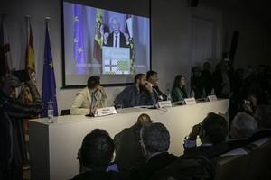 Presentación del colectivo Tabarnia, con el vídeo del discurso de Boadella.