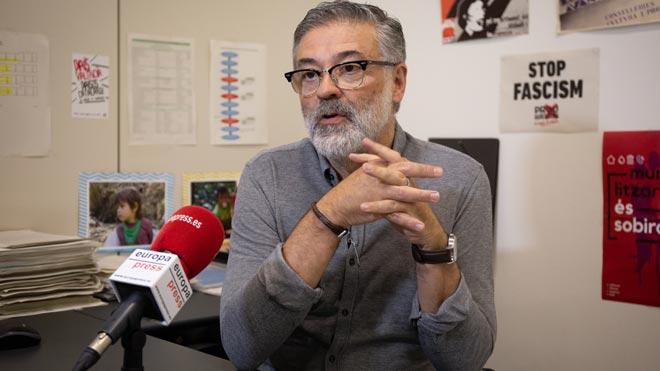 Carles Riera (CUP): «David Fernàndez podria ser un molt bon candidat»
