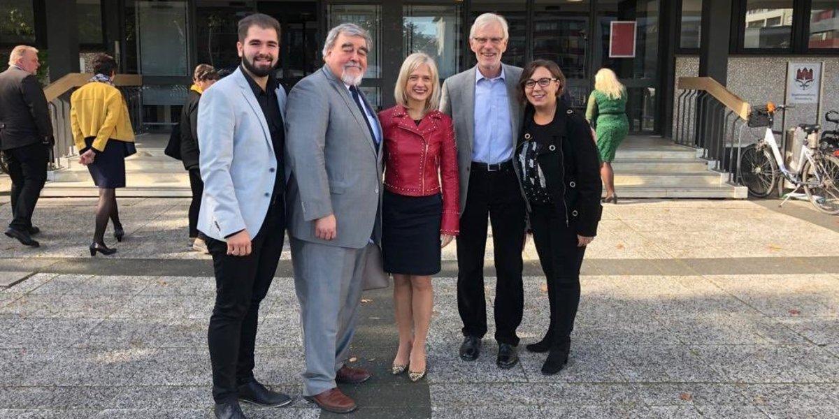 Esplugues i Ahrensburg celebren 30 anys d'agermanament