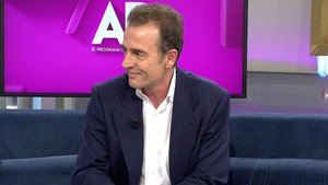 Alessandro Lequio regresa a 'El programa de AR' tras la muerte de su hijo Álex