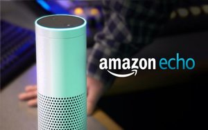 El dispositivo de audio Amazon Echo.
