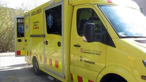 Ambulancia del Sistema de Emergencias Médicas (SEM) de Catalunya.