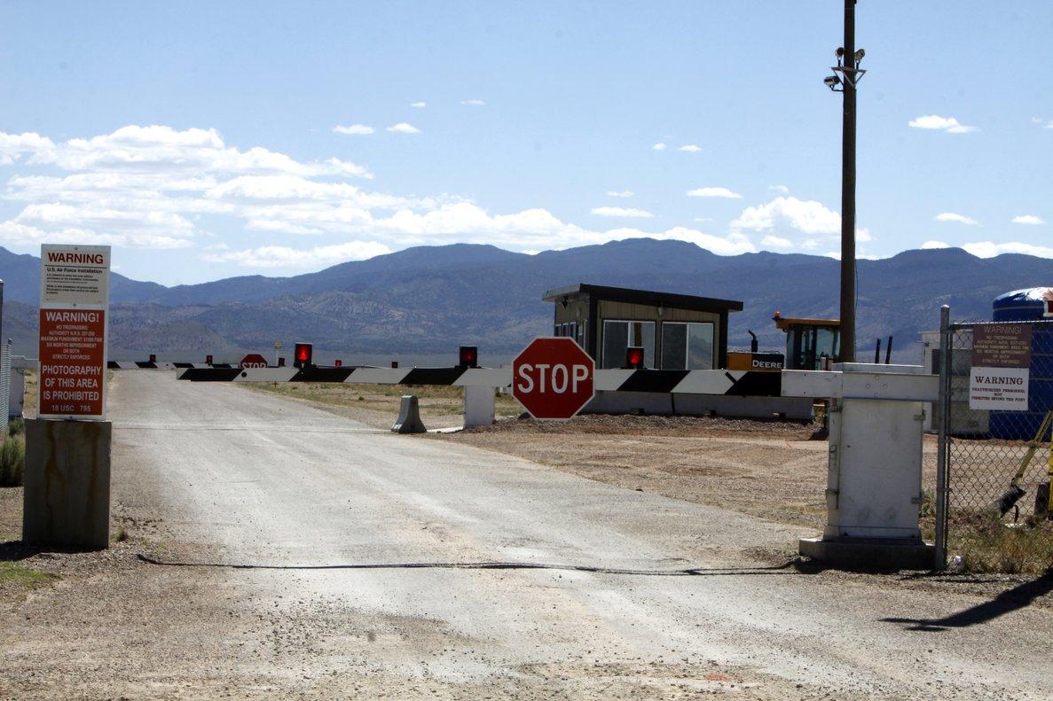 El Área 51 es un terreno militar situado en pleno desierto de Nevada.